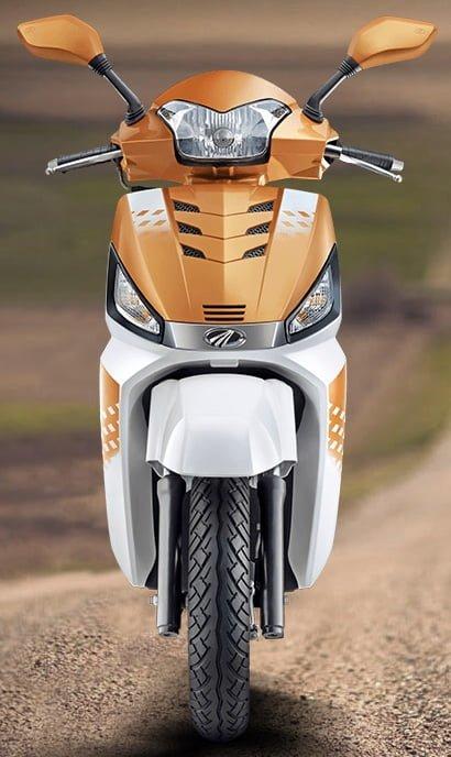 Mahindra Gusto 125cc Price, Orange Front Image
