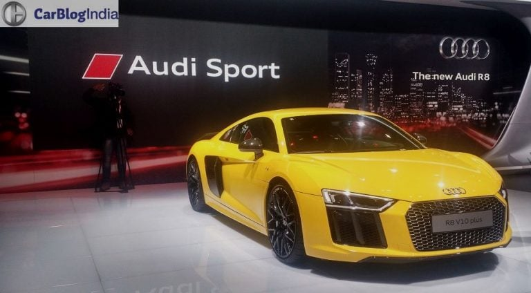Audi Cars at Auto Expo 2016