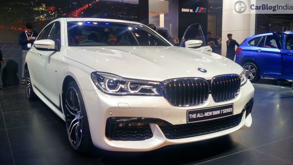 Bmw 7 Series Auto Expo 2016 3