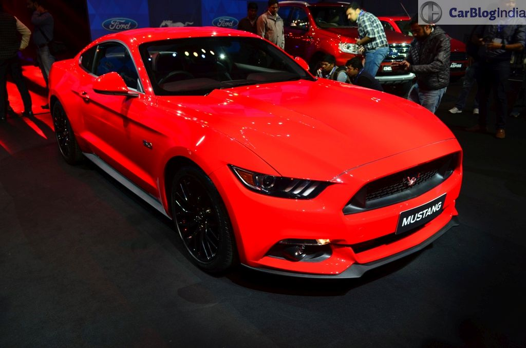 Ford Mustang India Launch