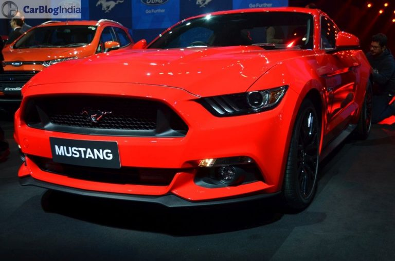 Ford Mustang Launched in India at INR 65 Lakhs!