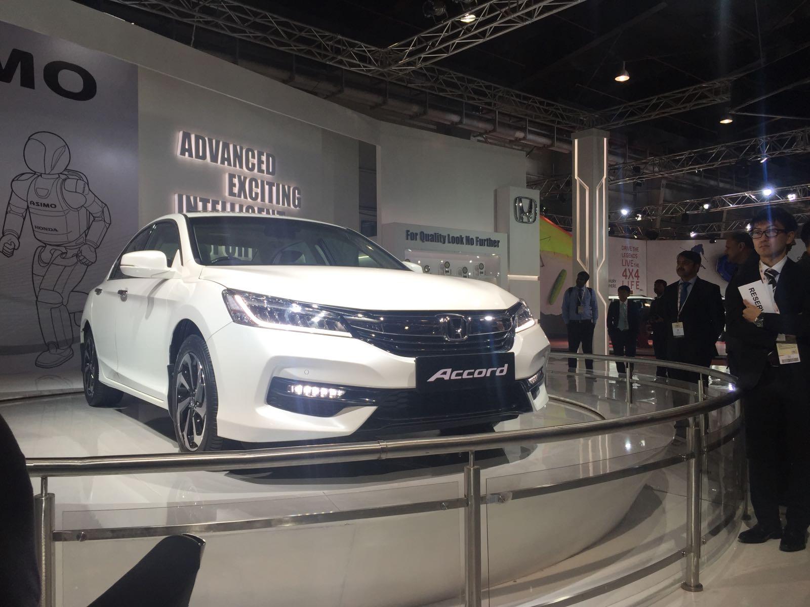 Honda Accord New Model Photos Front Angle
