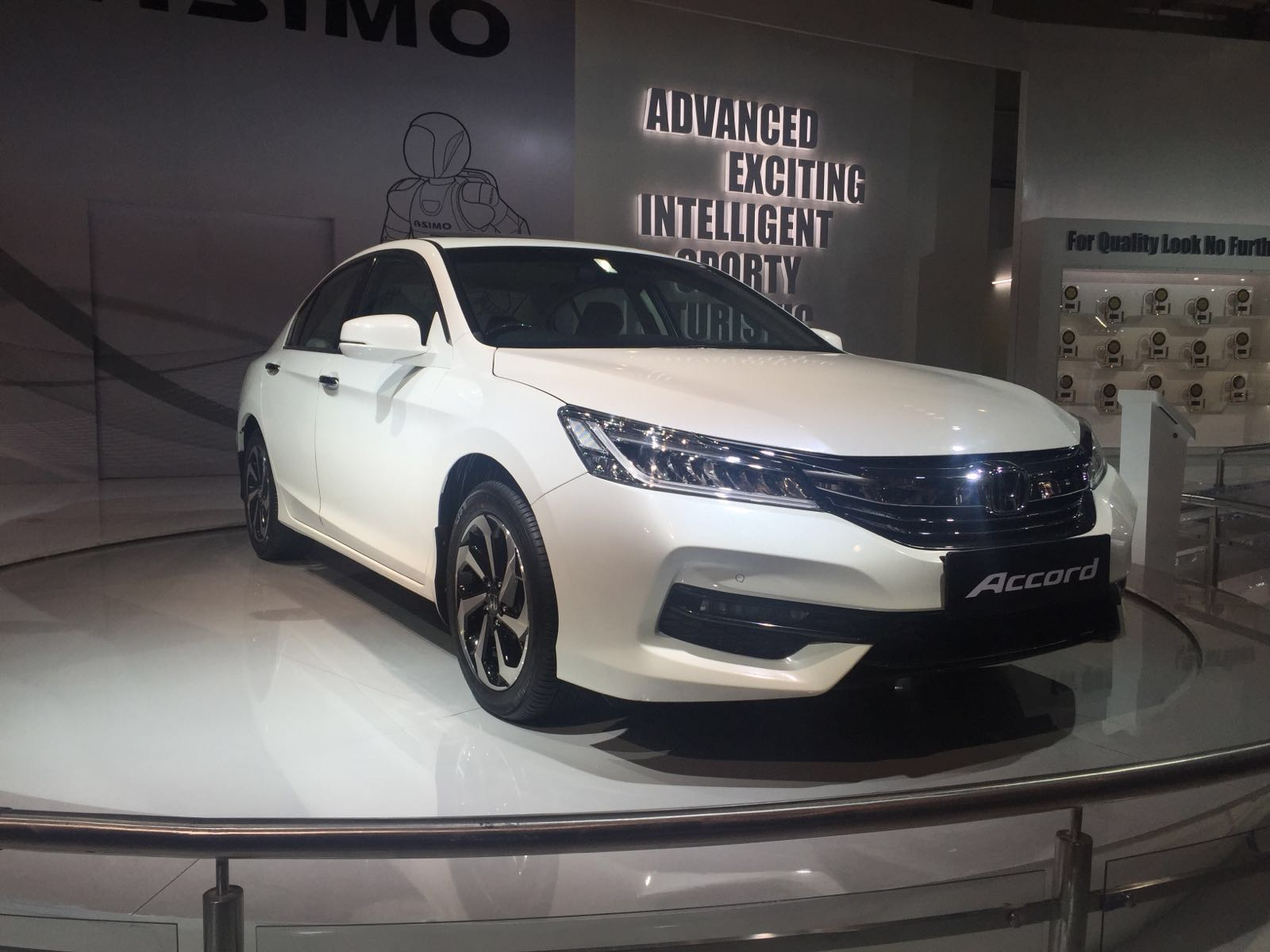 Honda Accord New Model Photos Front Angle