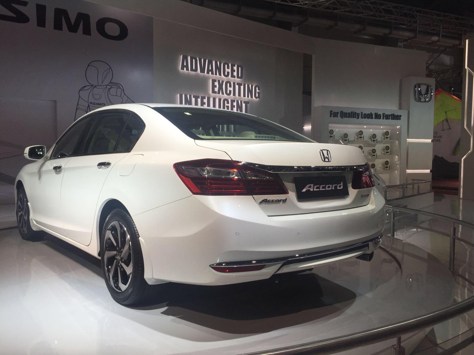 New honda accord 2016 india price 37 lakh specs for Honda accord models