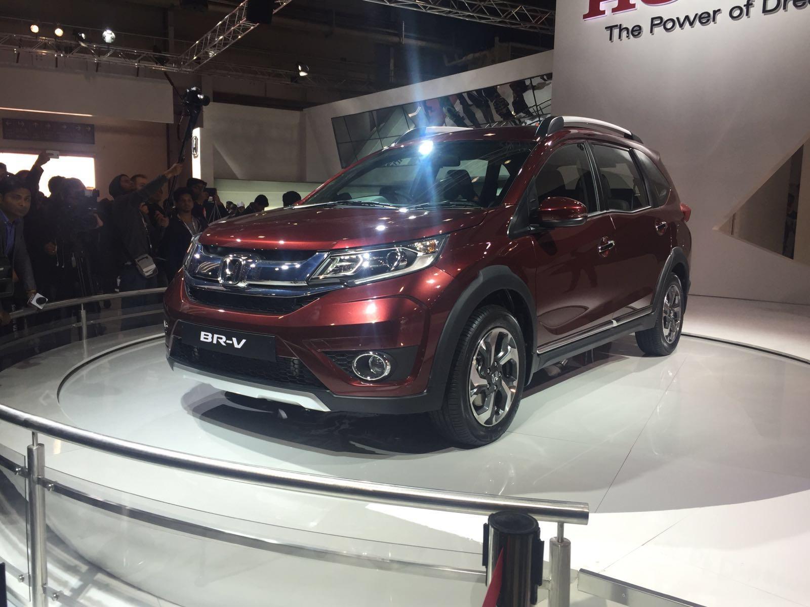 Honda brv india auto expo photos 3