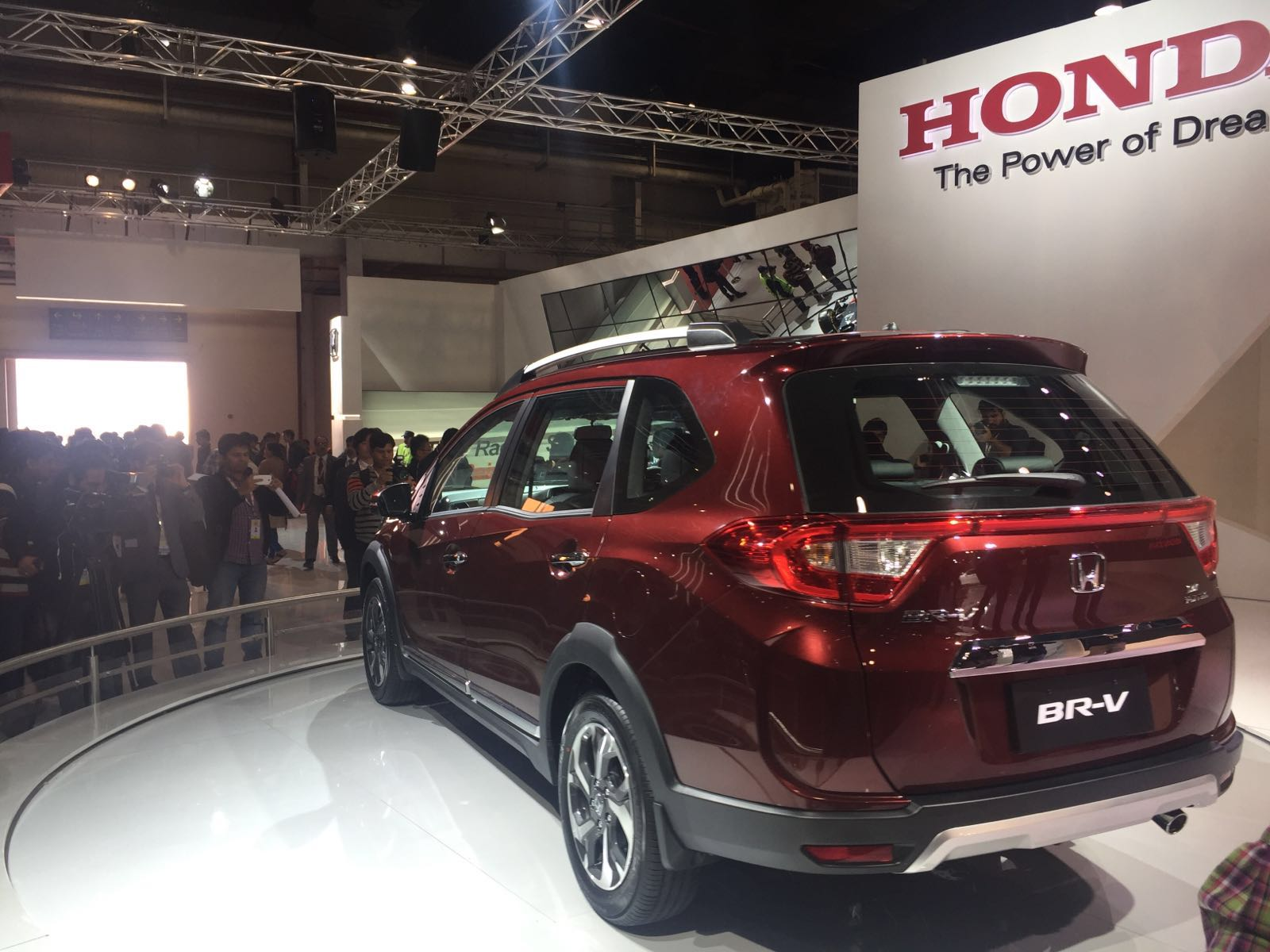 Honda Brv India Auto Expo Photos 3