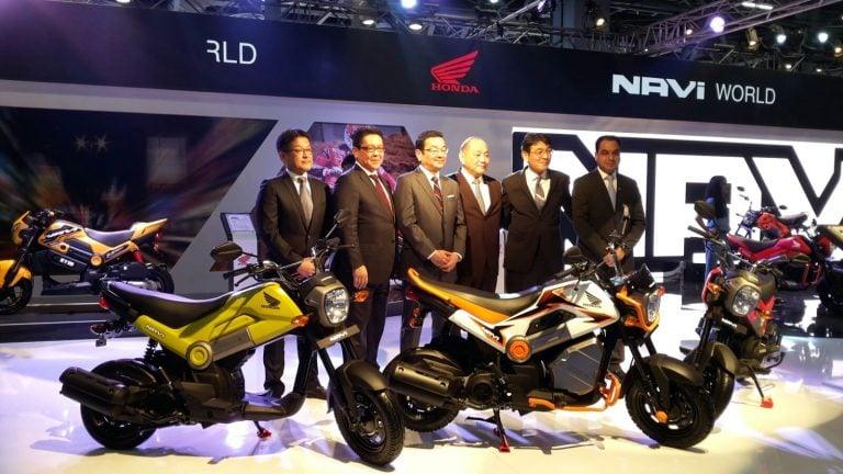 New Honda Bikes at Auto Expo 2016