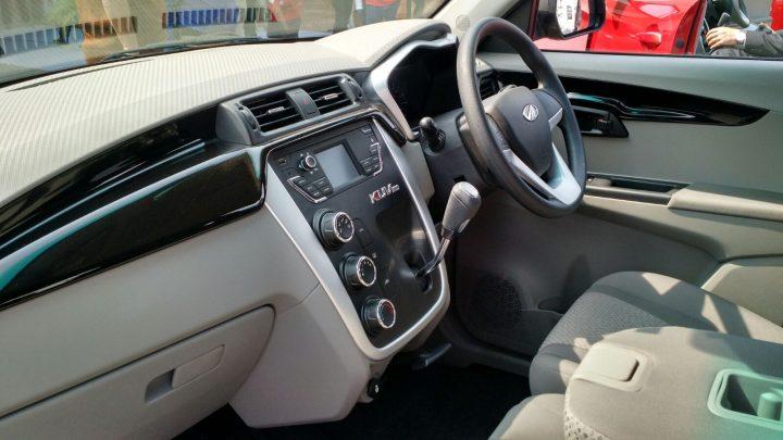 mahindra kuv100 price interior photo dashboard