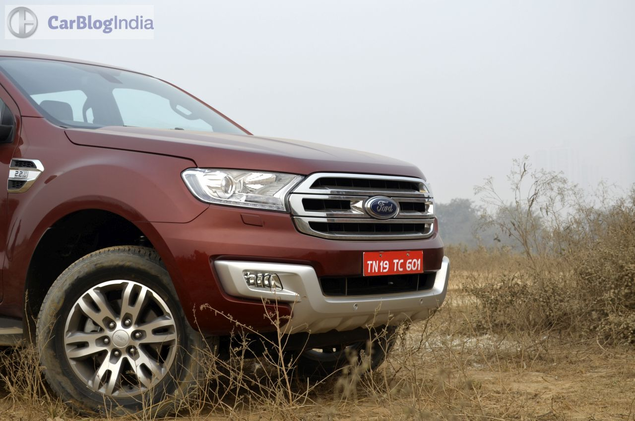 New Ford Endeavour Review Photos 11 Carblogindia
