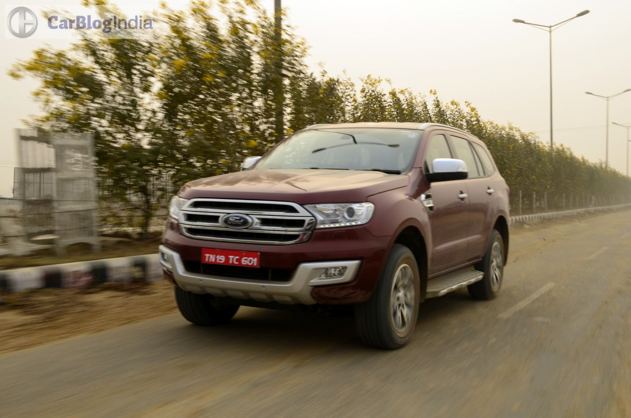 Ford Endeavour Car Prices