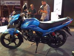 new tvs victor 2016 model photos blue