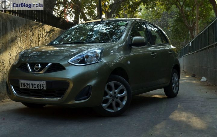 Nissan Micra CVT Review Photo Front Angle