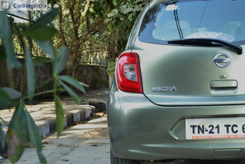 Nissan Micra CVT Review Photo Rear
