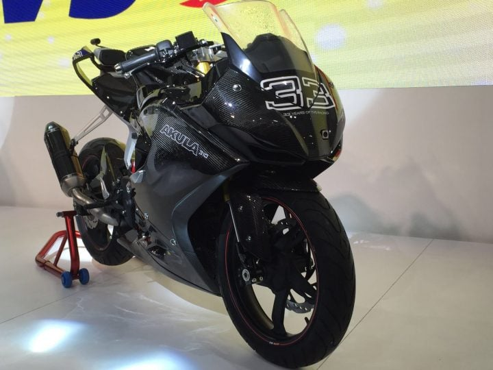 Upcoming New Bikes in India in 2017, 2018 - TVS Apache RR 310S