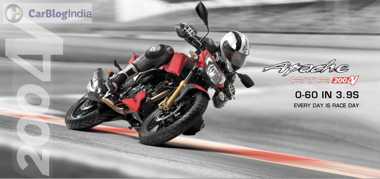 apache motorcycle ka photo  TVS Apache RTR 200 4V Price, Top Speed, Specification