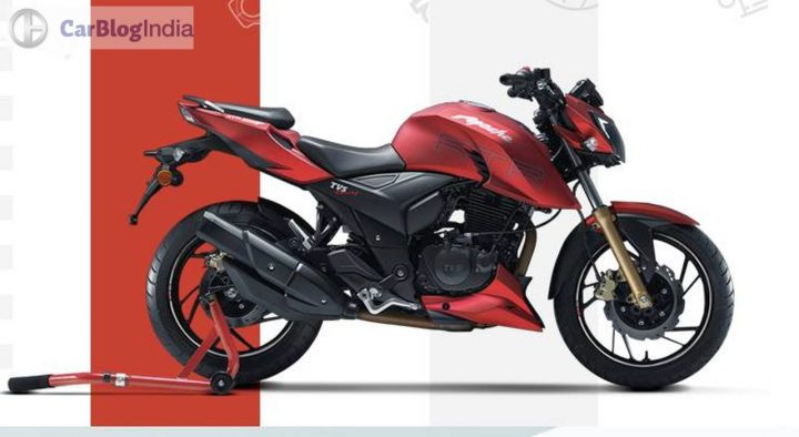 2017 tvs apache rtr 200 price, photos