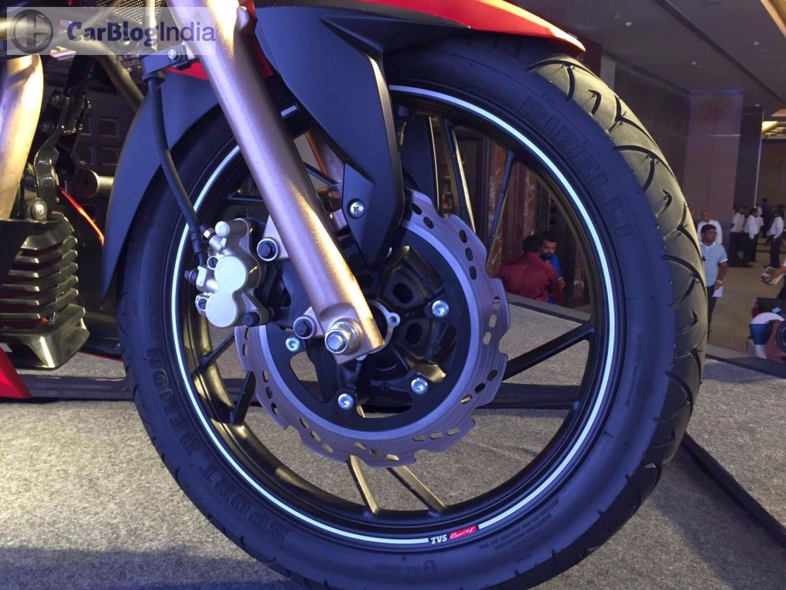 2018 TVS Apache RTR 200 4V - Price, Features, Specs And