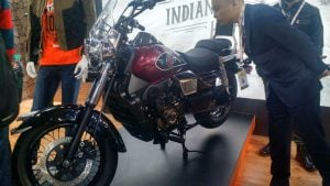 um motorcycles at auto expo 2016
