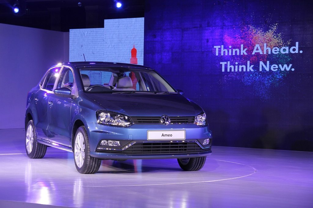 volkswagen cars at auto expo 2016 volkswagen-ameo-compact-sedan