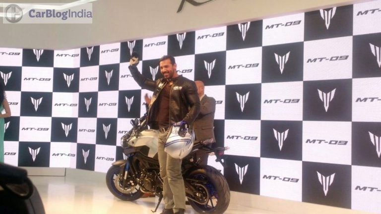 Yamaha at Auto Expo 2016 – MT09 Launched by John Abraham