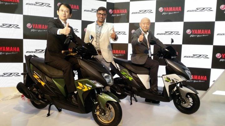 yamaha-ray-zr-auto-expo-2016 Yamaha at Auto Expo 2016