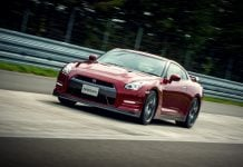 2015 nissan gt-r review photos front angle