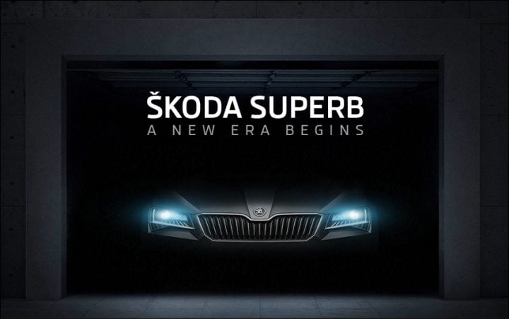 2016 Skoda Superb Teasers2