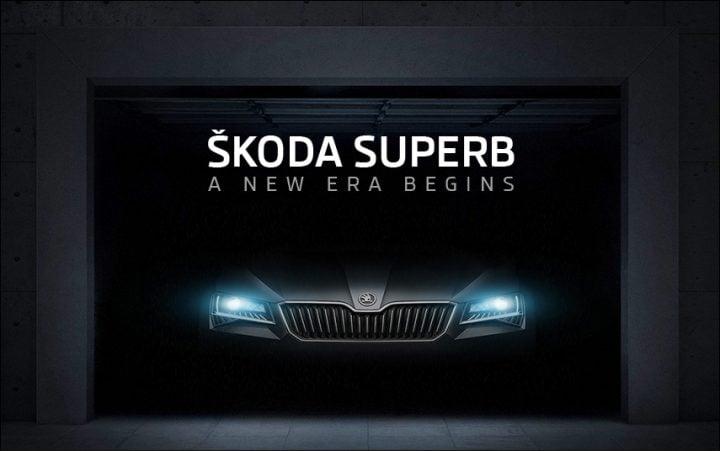 2016 Skoda Superb Teasers2