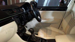 2016 skoda superb india photos interior front seats