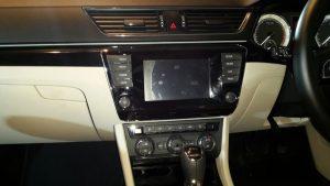 2016 skoda superb india photos touchscreen audio