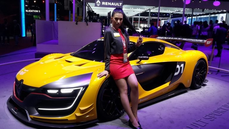 Renault Cars at Auto Expo 2016