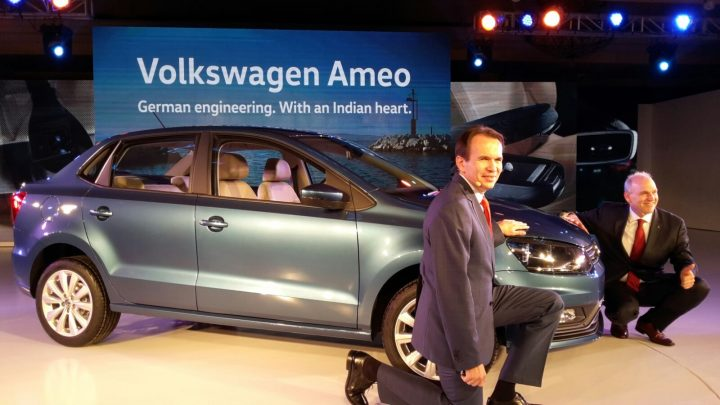Volkswagen Ameo Price Launch SIde Profile Images