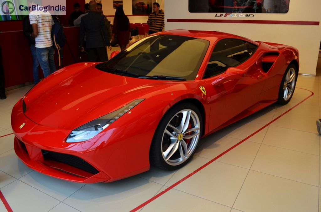 Ferrari 488 GTB Launched in India at INR 3.88 Crore 63653f7171b0