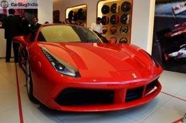 Ferrari 488 GTB India Launch front angle 2
