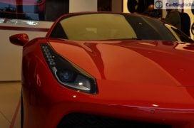 Ferrari 488 GTB India Launch headlamp 1