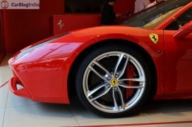 Ferrari 488 GTB India Launch rim