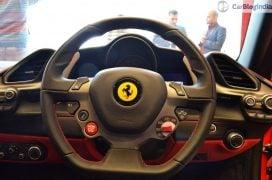 Ferrari 488 GTB India Launch steering