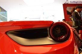 Ferrari 488 GTB India Launch tail light