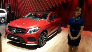 mercedes cars at auto expo 2016