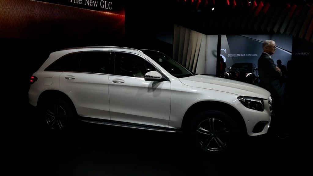 mercedes cars at auto expo 2016 Mercedes-Benz GLC India-1