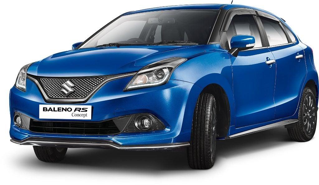 upcoming new car launches india 2016 Maruti Suzuki Baleno RS