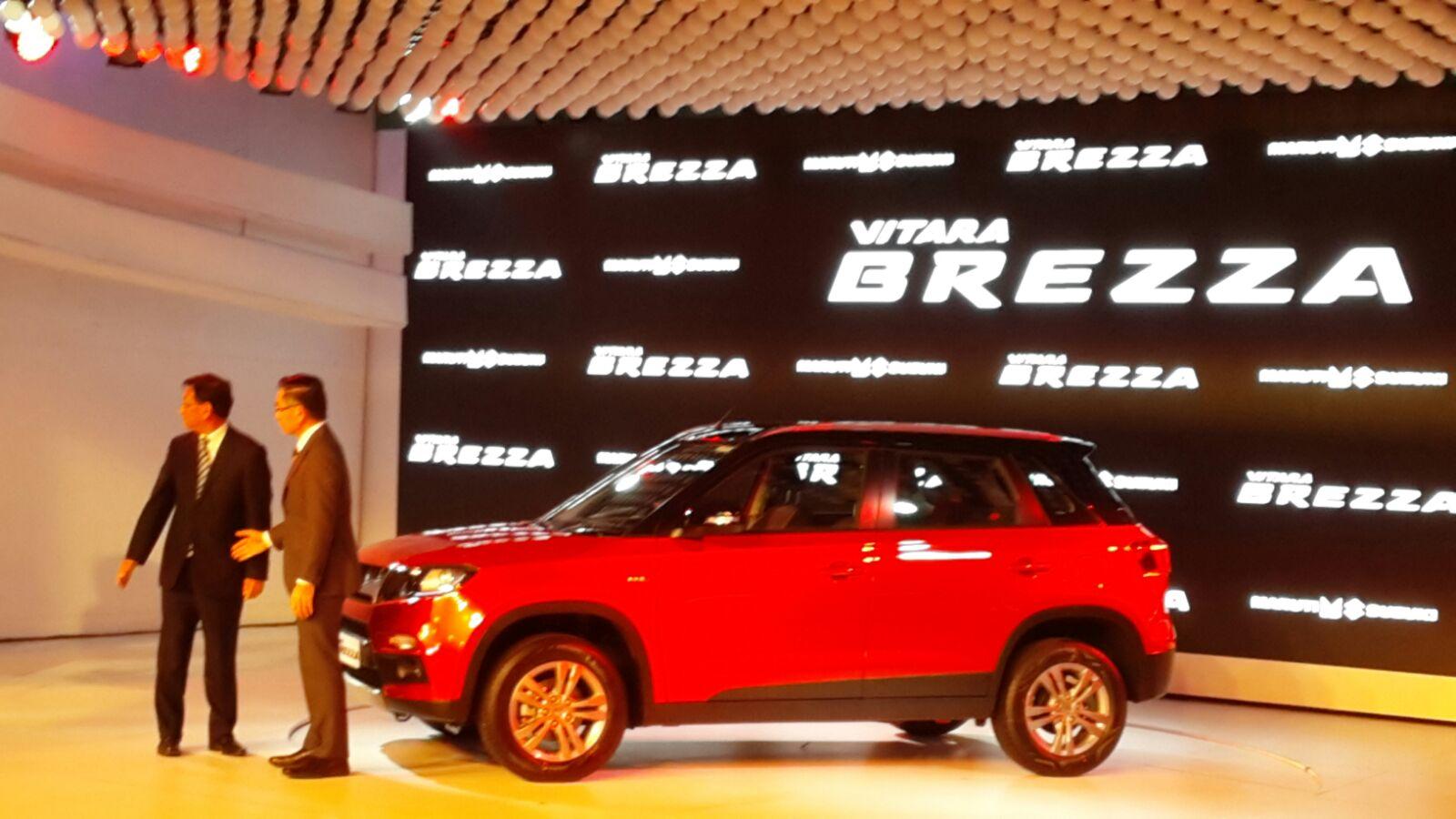 Breeza Maruti Suzuki