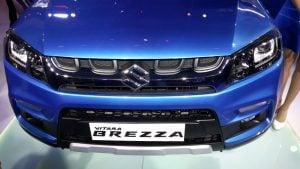Maruti Vitara Brezza Auto Expo 20167
