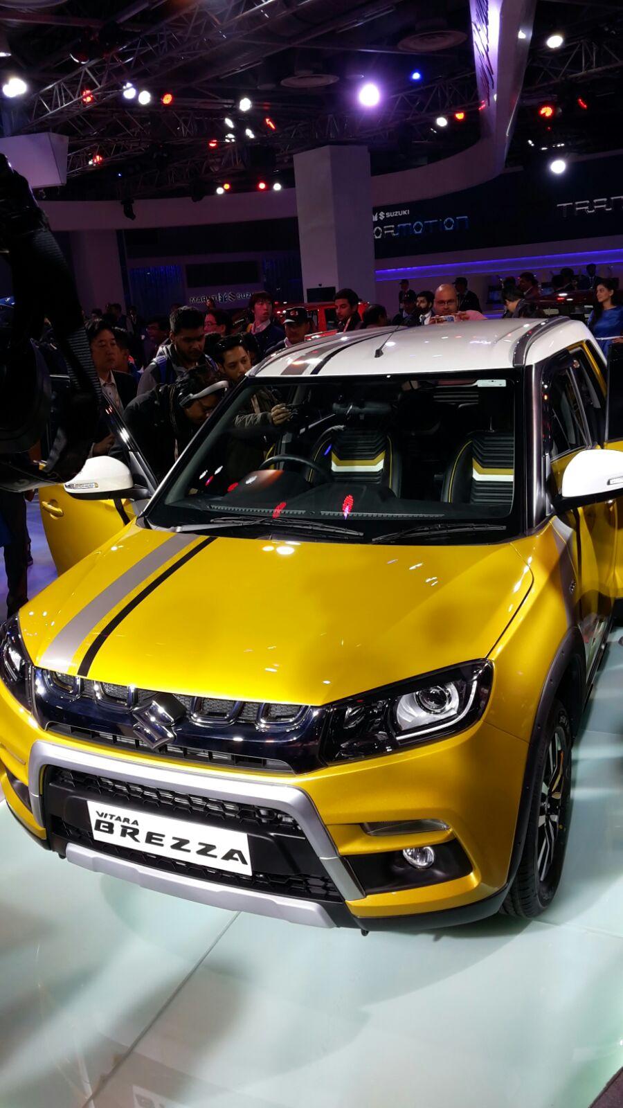 Maruti Vitara Breeza Auto Expo 20169 Carblogindia
