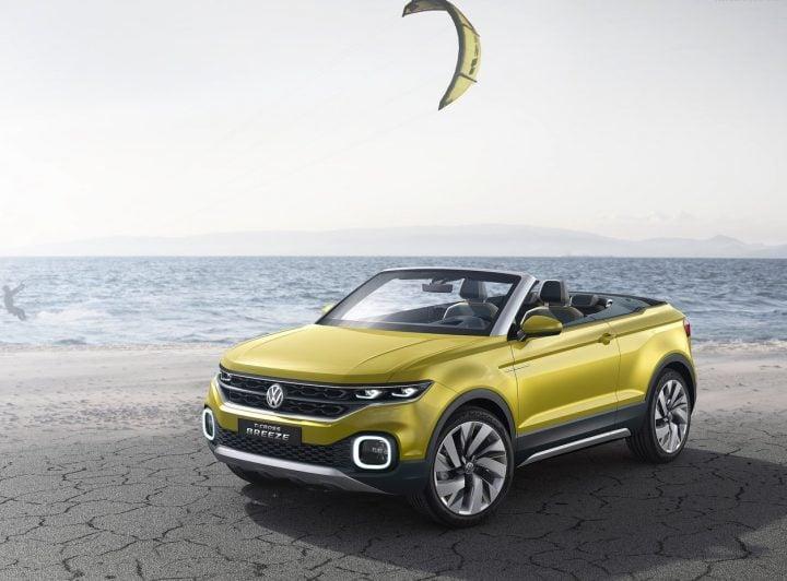 Upcoming SUV cars Under 15 Lakhs - Volkswagen T-Cross Breeze