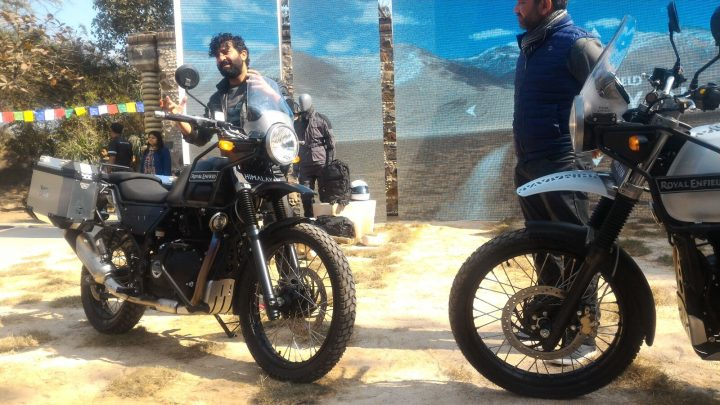Bikes at Auto Expo 2018 - Royal Enfield Himalayan 750cc