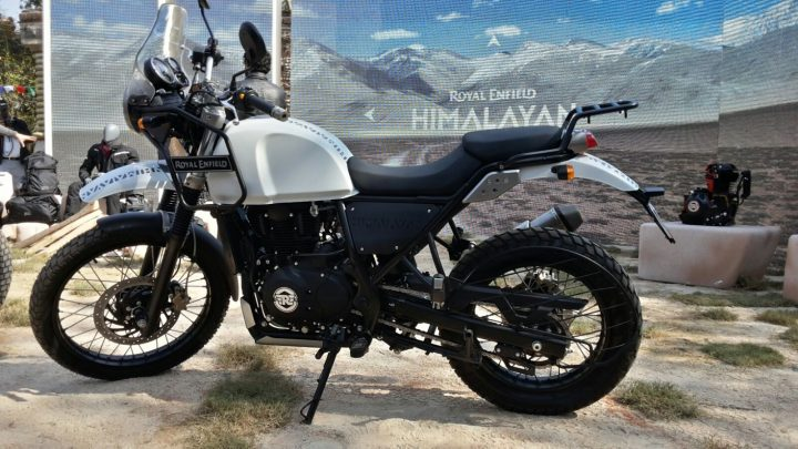 Royal Enfield Himalayan Side Close Up