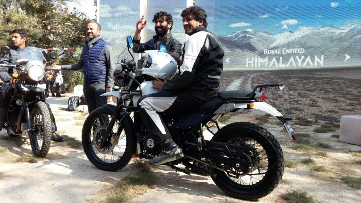 Royal Enfield Himalayan Side Profile