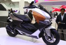 TVS New 150 cc maxi scooter