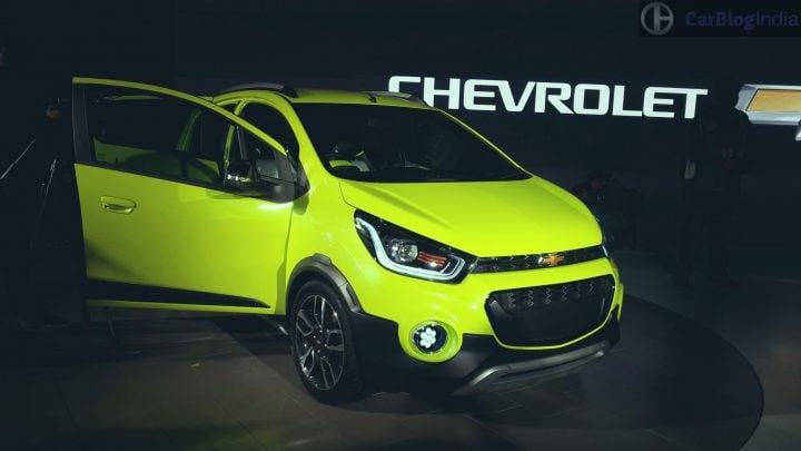 2017 Chevrolet Beat Activ India Launch, Price, Specifications, Mileage chevrolet beat activ concept